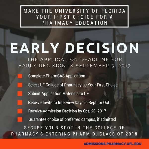 the decision to become a pharmacist When will i be notified of the decision  and arrange for a reference letter to give the pharmacy admissions  the university of waterloo school of pharmacy.